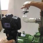 Montagem do Sensor Contrasseco na bomba